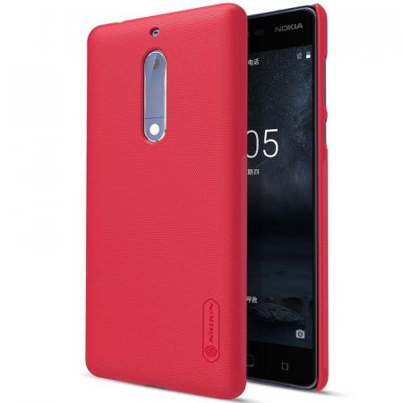 Husa   Nokia 5 Nillkin Frosted Shield - rosu0