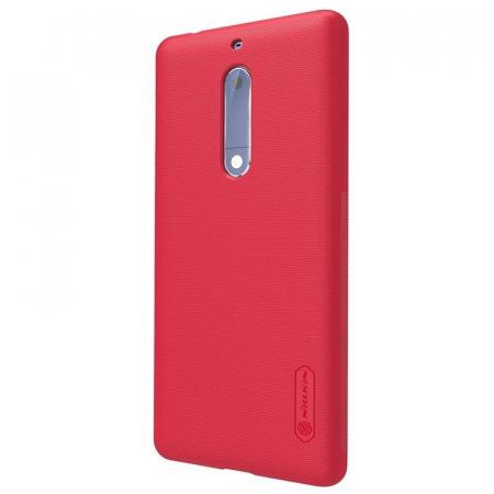 Husa   Nokia 5 Nillkin Frosted Shield - rosu2