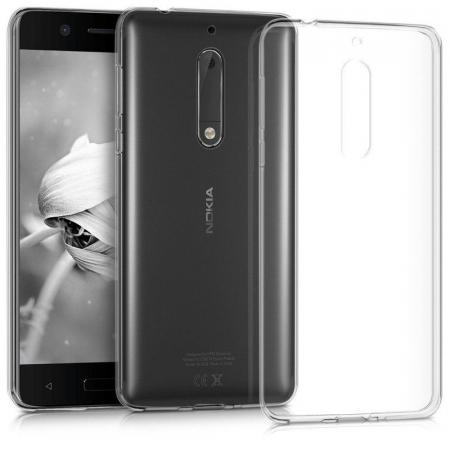 Husa Nokia 5 Silicon TPU extra slim 0.5 mm - transparent1