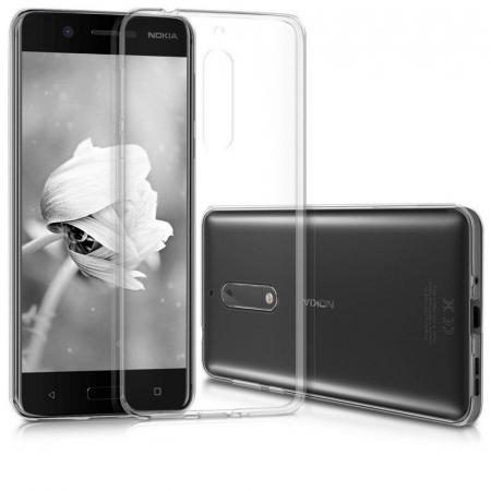 Husa Nokia 5 Silicon TPU extra slim 0.5 mm - transparent2