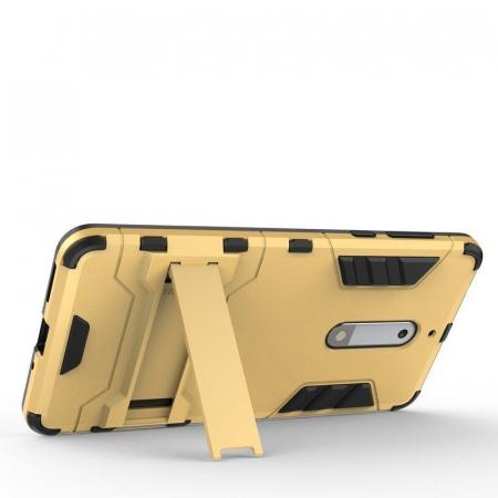 Husa   Nokia 5 Slim Armour Hybrid - rosu3