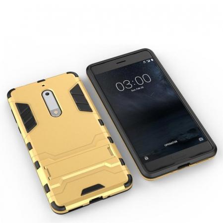 Husa   Nokia 5 Slim Armour Hybrid - rosu5