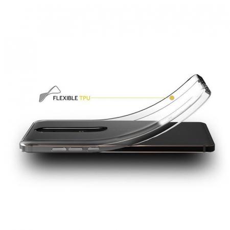 Husa   Nokia 6 (2018) / Nokia 6.1 Silicon TPU extra slim 0.5 mm - transparent2