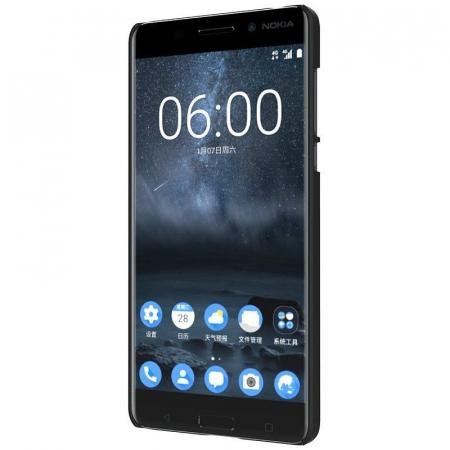 Husa Nokia 6 Nillkin Frosted Shield - negru5