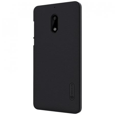 Husa Nokia 6 Nillkin Frosted Shield - negru4