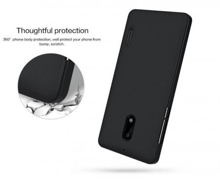 Husa Nokia 6 Nillkin Frosted Shield - negru2