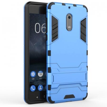 Husa Nokia 6 Slim Armour Hybrid - albastru0