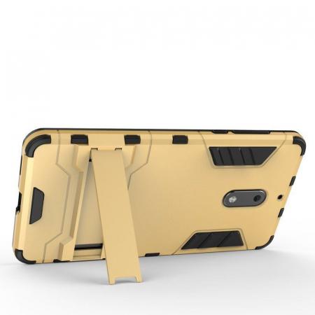 Husa Nokia 6 Slim Armour Hybrid - albastru3