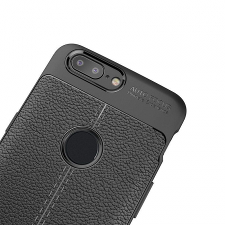 Husa OnePlus 5T - Tpu Grain - albastru5