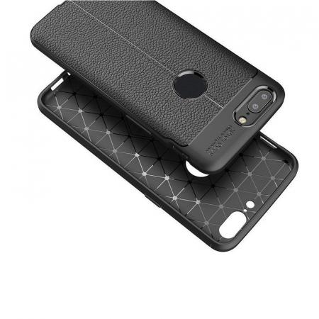 Husa OnePlus 5T - Tpu Grain - rosu4