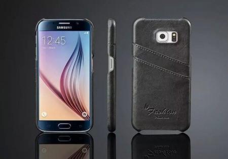 Husa piele Fashion Case  Samsung S6 - negru1