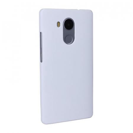 Husa plastic cauciucat Huawei Ascend Mate 8 - alb1