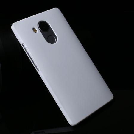 Husa plastic cauciucat Huawei Ascend Mate 8 - alb2