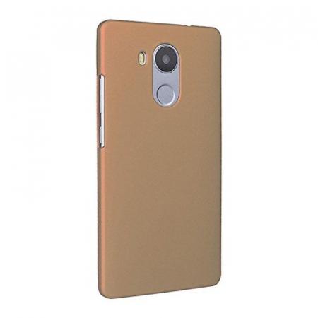 Husa plastic cauciucat Huawei Ascend Mate 8 - gold1