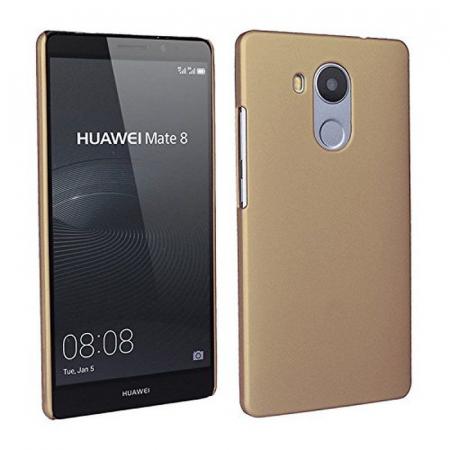 Husa plastic cauciucat Huawei Ascend Mate 8 - gold2