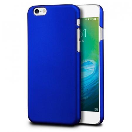 Husa iPhone 6 / iPhone 6s plastic cauciucat - albastru1