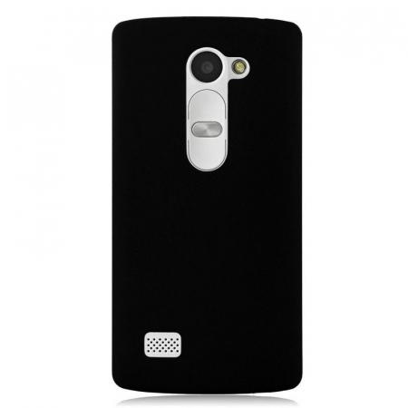 Husa LG Leon plastic cauciucat - negru4