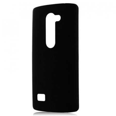 Husa LG Leon plastic cauciucat - negru1