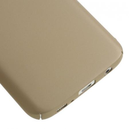 Husa plastic cauciucat Samsung Galaxy S7 - gold4