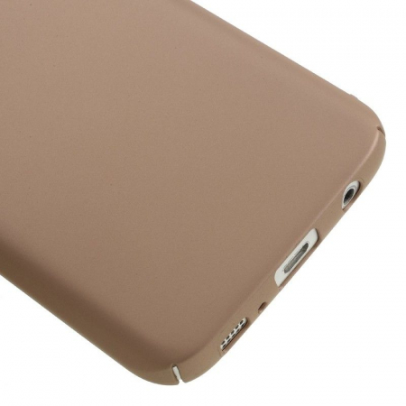 Husa plastic cauciucat Samsung Galaxy S7 - rose gold [1]