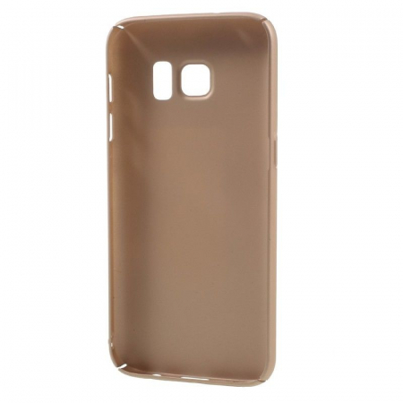 Husa plastic cauciucat Samsung Galaxy S7 - rose gold [4]