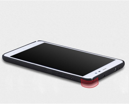 Husa plastic cauciucat Xiaomi Redmi Note 3 - gold4