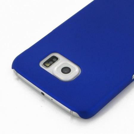 Husa Plastic Hard Case Samsung S6 - albastru1