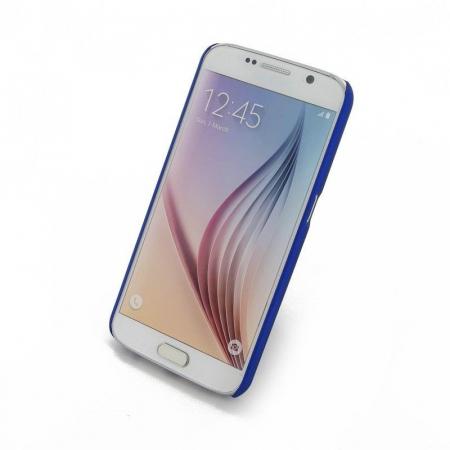 Husa Plastic Hard Case Samsung S6 - albastru3
