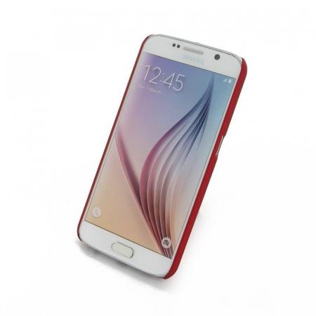 Husa Plastic Hard Case Samsung S6 - rosu2