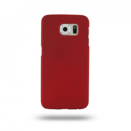 Husa Plastic Hard Case Samsung S6 - rosu0