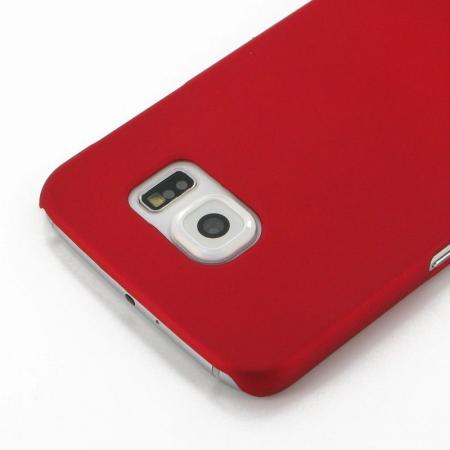 Husa Plastic Hard Case Samsung S6 - rosu1