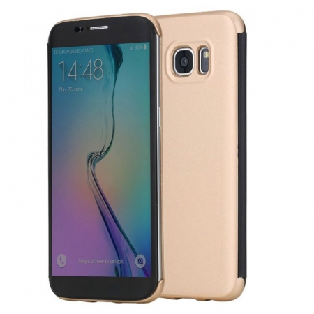 Husa Rock Dr.V Series Galaxy S7 - gold 0