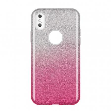 Husa Samsung A50 Shiny TPU Sclipici – Roz degrade0