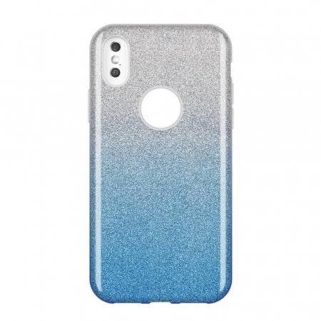 Husa Samsung A50 Shiny TPU Sclipici – Albastru degrade0