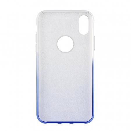Husa Samsung A50 Shiny TPU Sclipici – Albastru degrade1