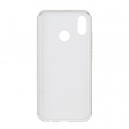 Husa Samsung A50 Shiny TPU Sclipici – Argintiu1