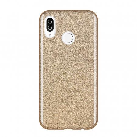 Husa Samsung A50 Shiny TPU Sclipici – Gold0