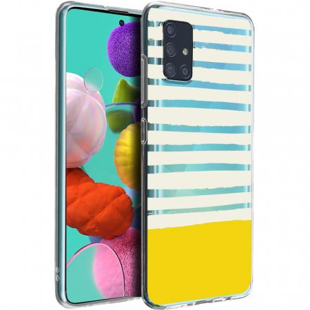 Husa Samsung A51 - Silicon Matte - Strips4