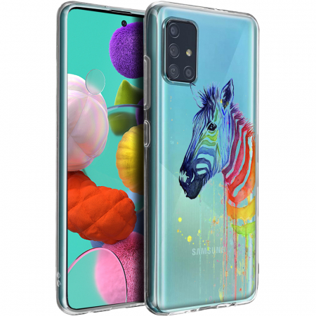 Husa Samsung A51 - Silicon Matte - Zebra1