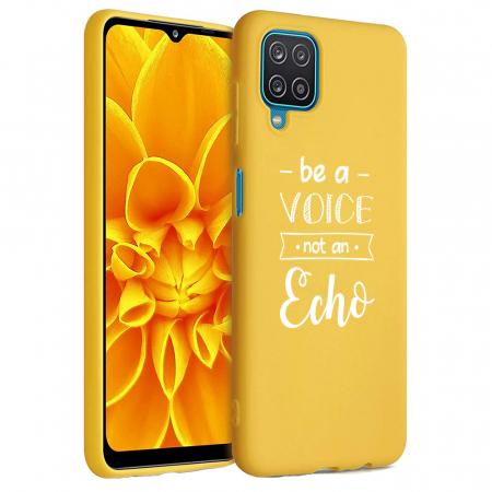 Husa Samsung Galaxy A12 - A42  - Silicon Matte - Be a Voice [2]