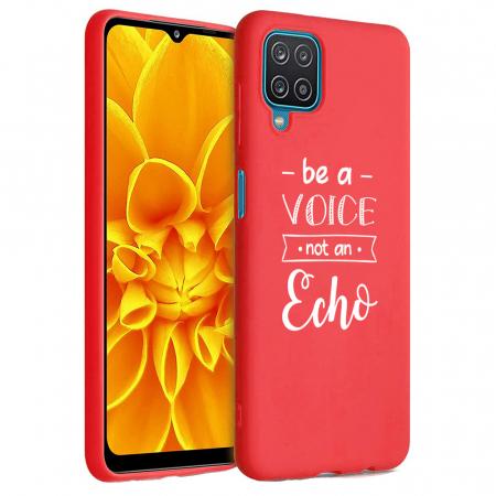 Husa Samsung Galaxy A12 - A42  - Silicon Matte - Be a Voice [5]