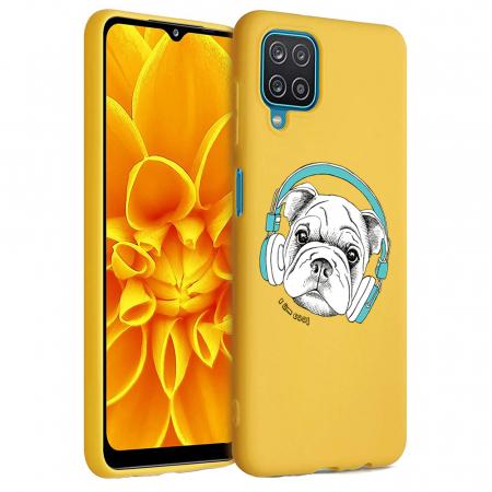 Husa Samsung Galaxy A12 - A42  - Silicon Matte - Cool Dog [6]