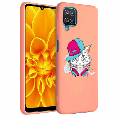 Husa Samsung Galaxy A12 - A42  - Silicon Matte - Cool Cat [5]