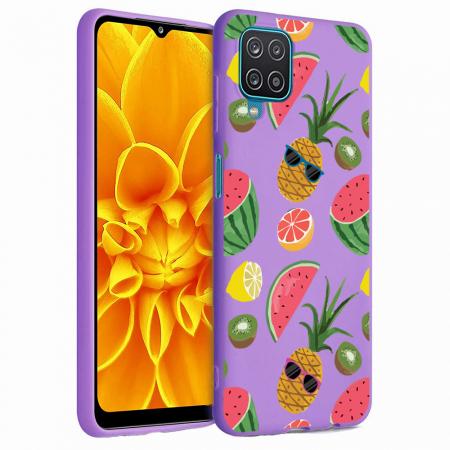 Husa Samsung Galaxy A12 - A42  - Silicon Matte - Cool Fruits [4]