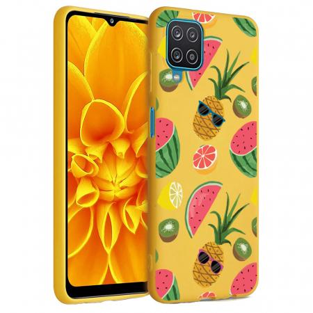 Husa Samsung Galaxy A12 - A42  - Silicon Matte - Cool Fruits [0]