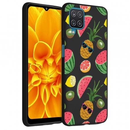Husa Samsung Galaxy A12 - A42  - Silicon Matte - Cool Fruits [6]