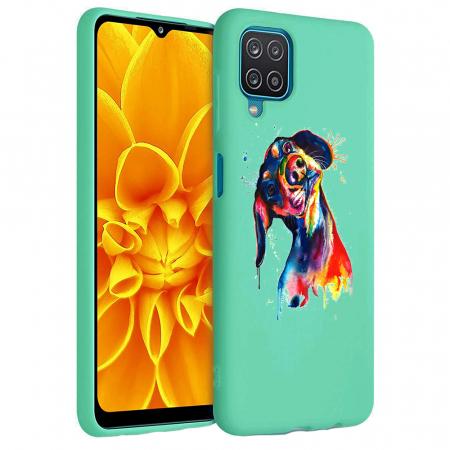 Husa Samsung Galaxy A12 - A42  - Silicon Matte - Crazy Dog [4]