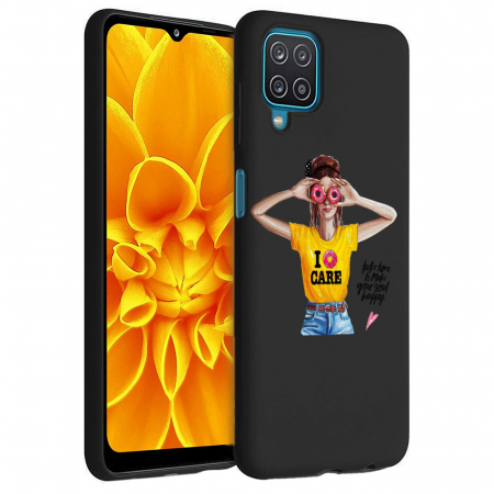 Husa Samsung Galaxy A12 - A42  - Silicon Matte - Don't Care [6]