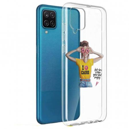 Husa Samsung Galaxy A12 - A42  - Silicon Matte - Don't Care [0]