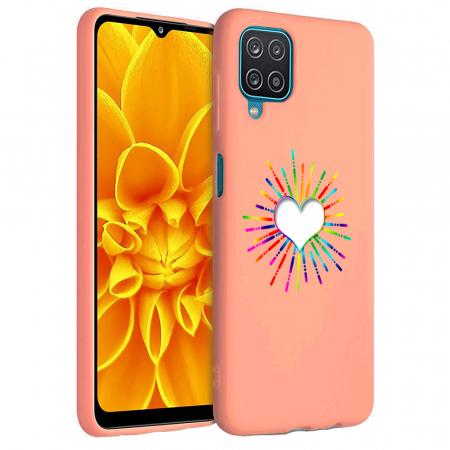 Husa Samsung Galaxy A12 - A42  - Silicon Matte - Heart 1 [0]